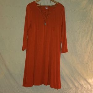 Old Navy Rust Orange dress